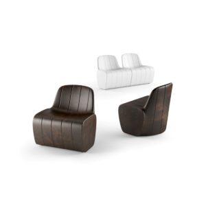 "Seduta modulare ""Jetlag"" in polietilene_R.G.Manifatture_Arredo Indoor/Outdoor"