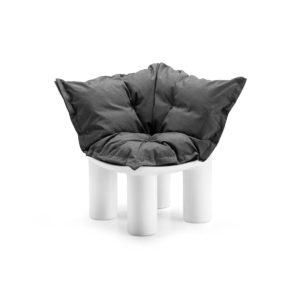 Atene poltrona angolare con cuscino_arredo in polietilene per outdoor_R.G.Manifatture_vendita online