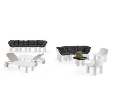 Set Atene_sedie, tavoli e sunlounge in polietilene_arredo outdoor_R.G.Manifatture_vendita online