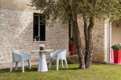 Set tavolo e sedia Frozen_Arredo giardino in polietilene_R.G.Manifatture