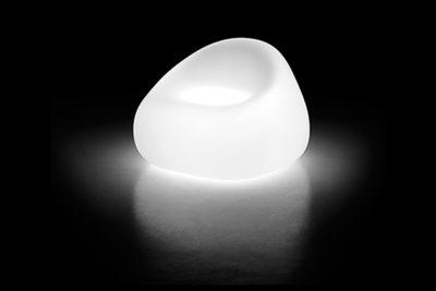 Gumball poltrona_Arredo in polietilene luminoso_R.G.Manifatture