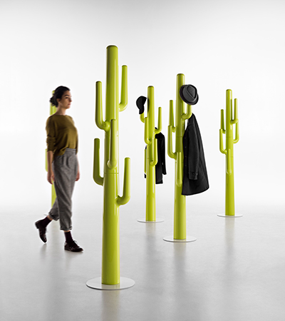 Appendiabiti cactus in polietilene colorato_Arredo indoor_R.G.Manifatture