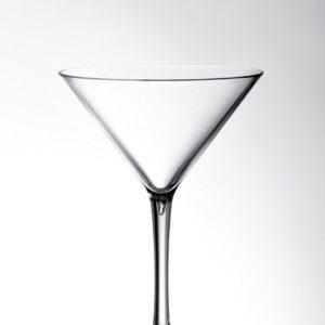 """""""Coppa Martini"""" in policarbonato_bicchiere infrangibile_trasparente_R.G.Manifatture_vendita online"""