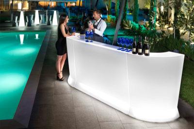 "Bancone ""Marvy""_arredo bar in polietilene_R.G.Manifatture_vendita online e noleggio"