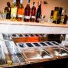 Bancone bar in legno attrezzato_wood set bar_R.G.Manifatture_vendita online e noleggio