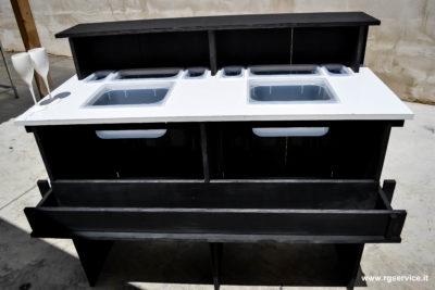Wood set bar_bancone bar in legno attrezzato e personalizzabile_R.G.Manifatture_vendita online