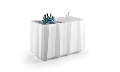 """""""Frozen"""" bancone catering_arredo bar in polietilene_R.G.Manifatture"""