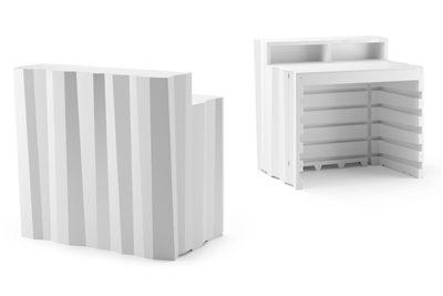 Frozen desk_Arredo bar in polietilene_R.G.Manifatture
