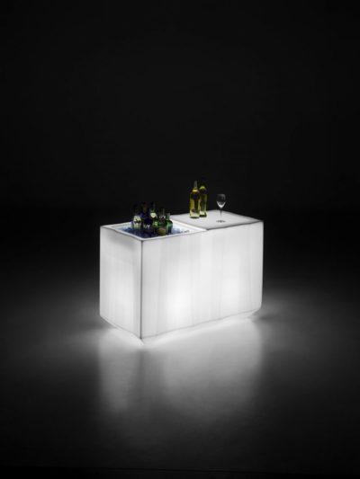 """Piano catering """"Frozen""""_modulare_polietilene luminoso_R.G.Manifatture_vendita online"""