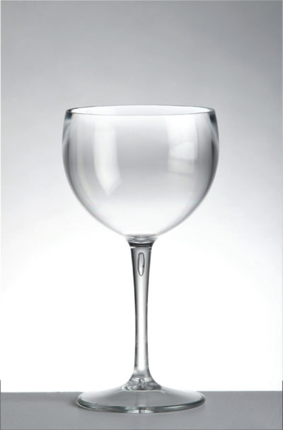 Ballon in policarbonato_bicchiere infrangibile_trasparente_R.G.Manifatture_vendita online