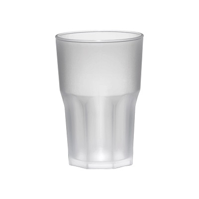 Bicchiere in SAN_350 cc_effetto ghiacci_bicchieri infrangibili_R.G.Manifatture