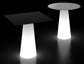 Fura tavolo_arredo luminoso in polietilene_R.G.Manifatture
