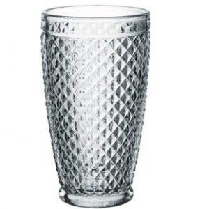 "Tumbler in vetro ""Pigalle"" old style raffinati, completamente lavorati"