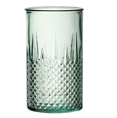 Bicchieri in vetro riciclato