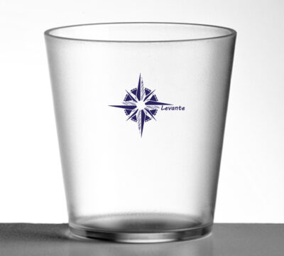 bicchieri lavabili per barche