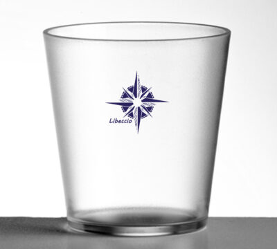 set di bicchieri plastica dura