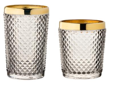 Bicchieri timeless gold